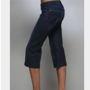 7 For All Mankind Dojo Crop Capri 24